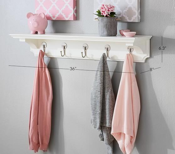 classic hook shelf