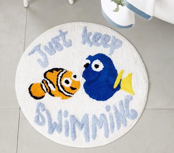 disney and pixar finding nemo bath set towels shower curtain bath mat