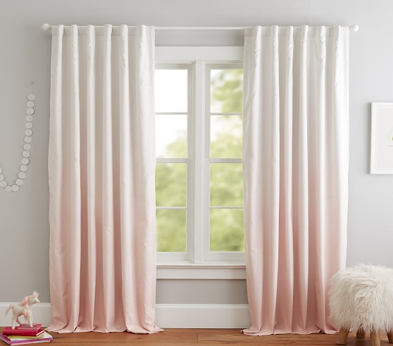 ombre blackout curtain panel