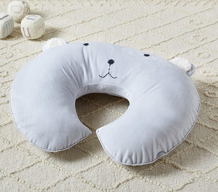 bear classic critter boppy bare naked nursing pillow cover