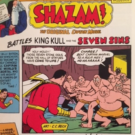 Image result for Shazam battles king kull