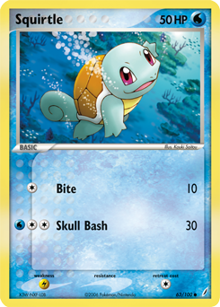 Squirtle Pokdex