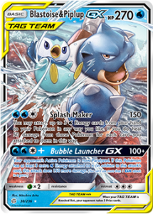 Blastoise & Piplup-GX