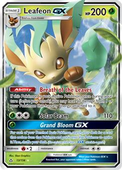 Leafeon  XYFurious Fists  TCG Card Database  Pokemoncom