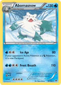 Image result for abomasnow card