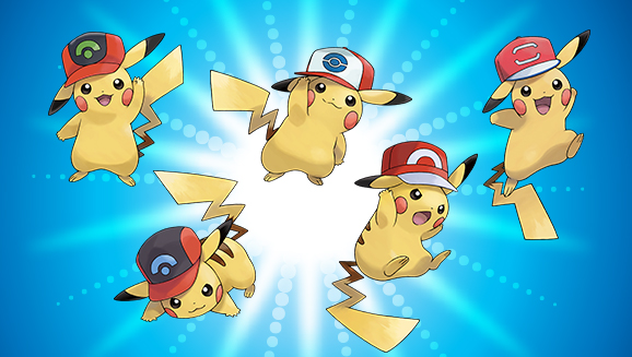 get pikachu wearing ash