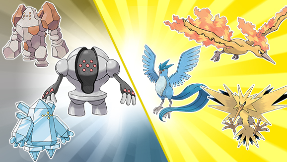 legendary pokémon distribution trios