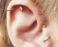 Triple Forward Helix Earrings Set - Jewelry Ufafokus.com
