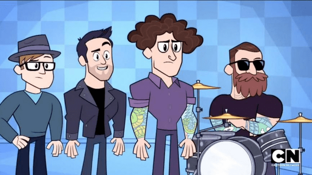 Mania Wallpaper Fall Out Boy Watch Fall Out Boy Make Surprise Appearance In Teen