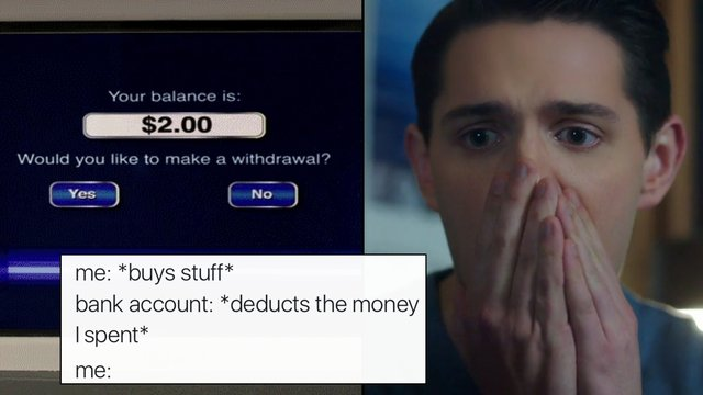 19 Hilarious Posts About Being Broke That Will Hit You Right In Your Empty Bank Account Popbuzz