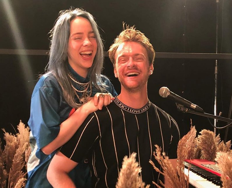 Image result for billie eilish with her brother