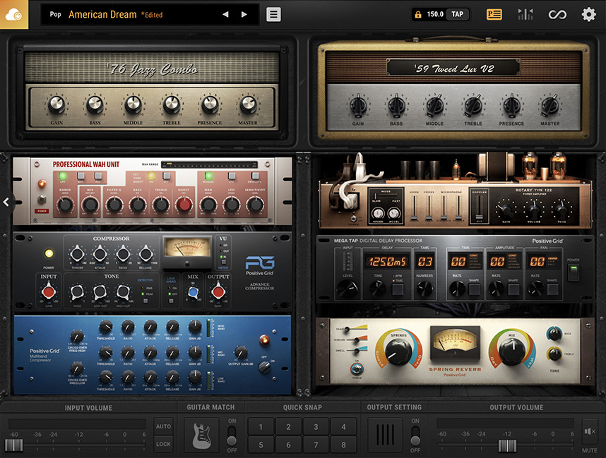 guitar effects processor and software