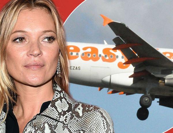 Kate Moss débarquée ivre d'un avion par les policiers !