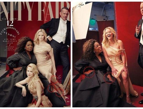 Vanity Fair abuse de Photoshop et c'est très drôle