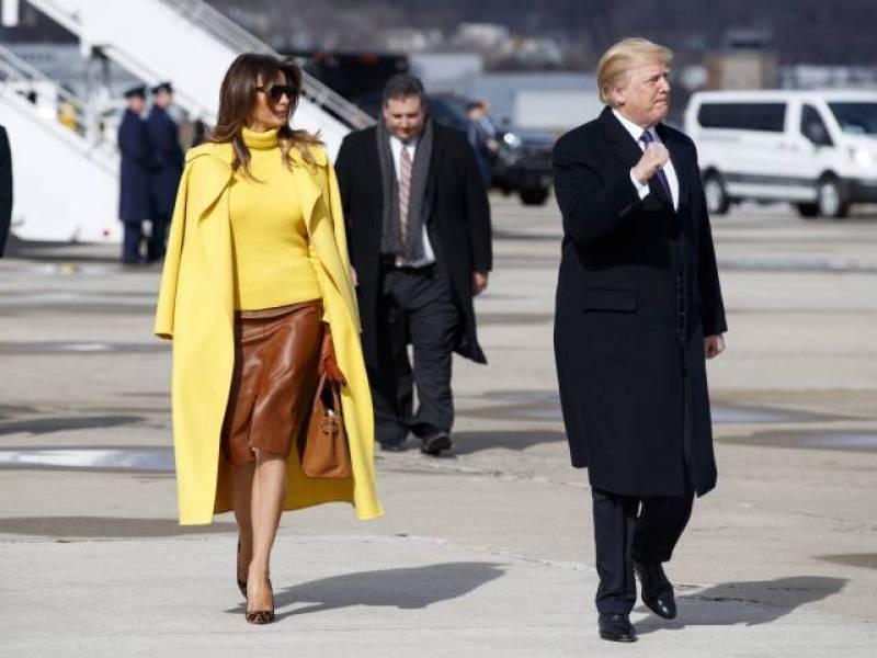 Malaise : Melania Trump met (encore) un vent à son mari… Et c'est très drôle !
