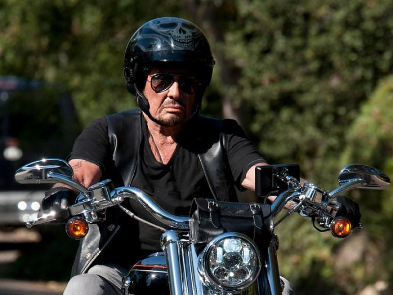 Johnny Hallyday: Sa mythique Harley-Davidson mise en vente!