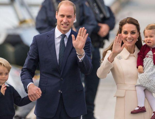 La raison pour laquelle le prince George et la princesse Charlotte n'ont pas le droit de manger avec leurs parents