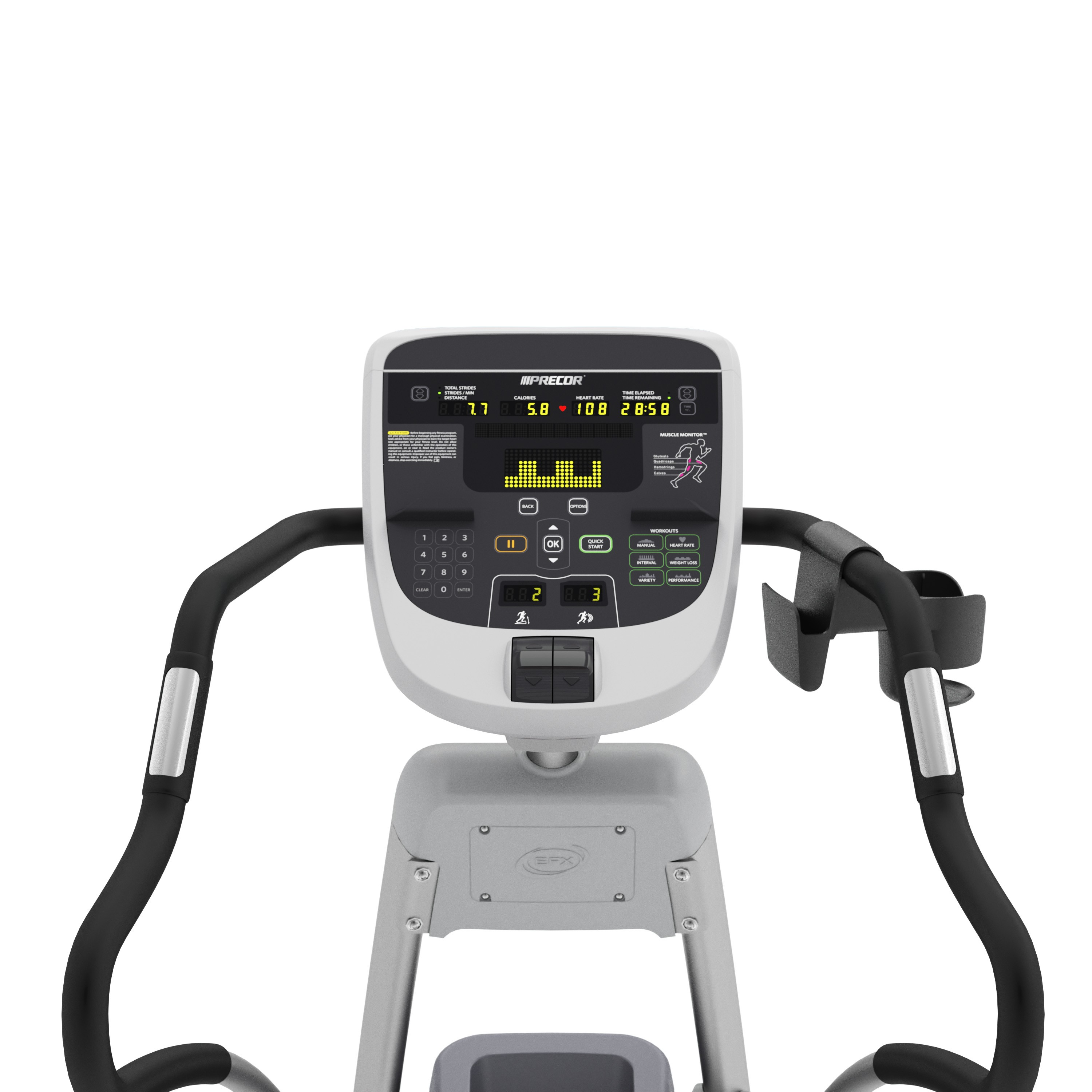 displaying 11 images for precor efx 835