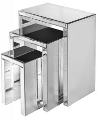 Mirrored Nest of Tables   eBay