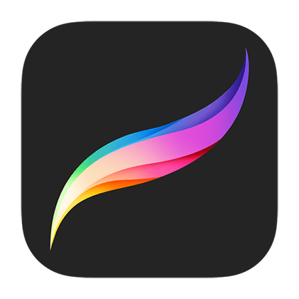 procreate icon search display