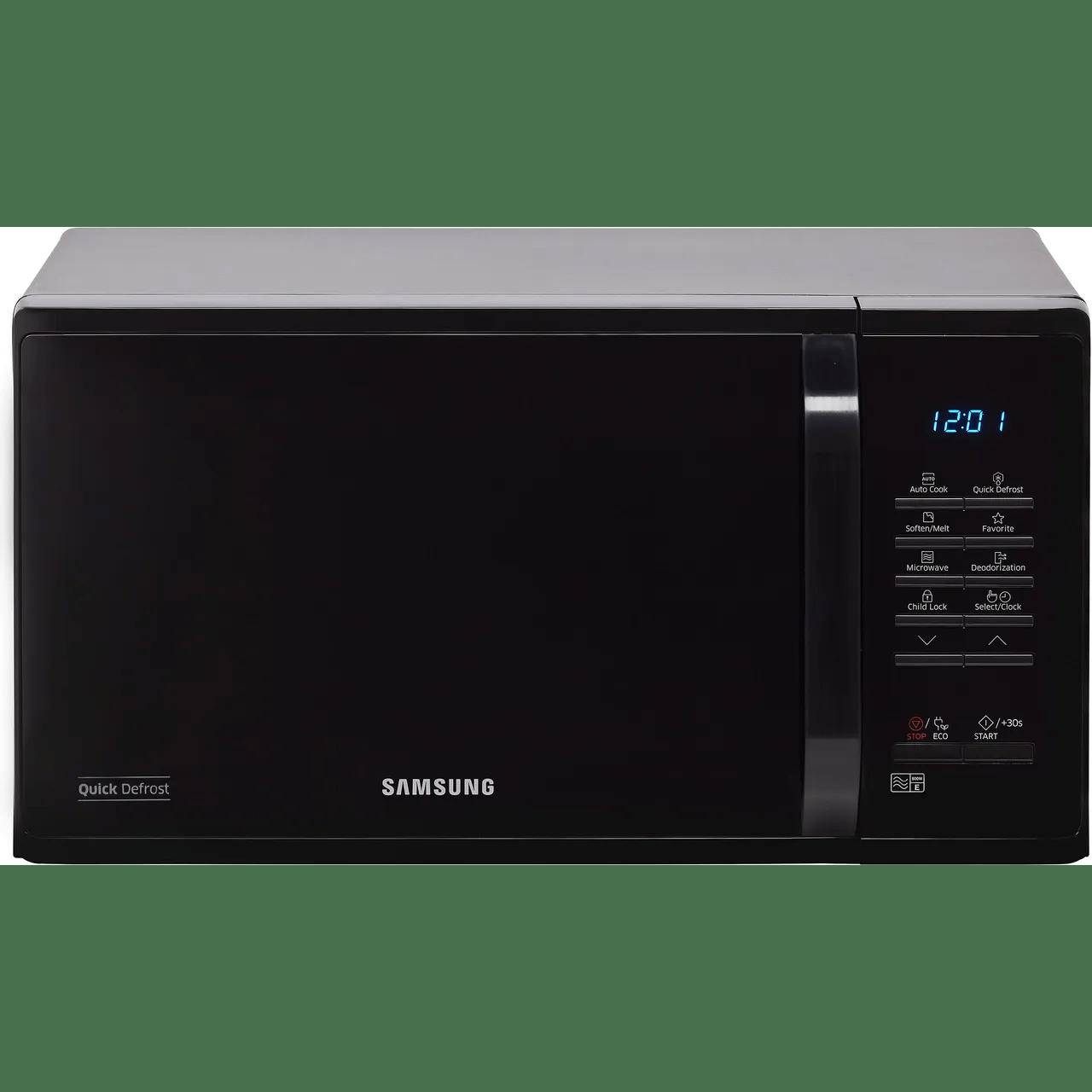 samsung ms23k3513ak 23 litre microwave black