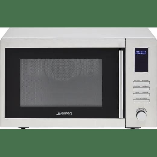 smeg moe34cxiuk 34 litre combination microwave oven stainless steel