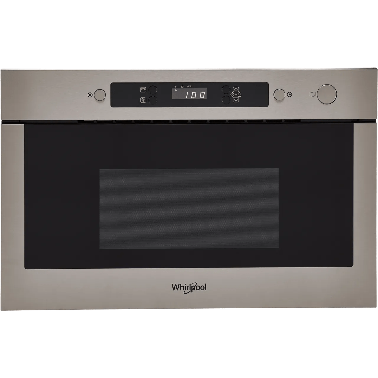 whirlpool amw423 ix built in microwave stainless steel