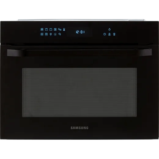 samsung prezio nq50r7530bk built in combination microwave oven black glass