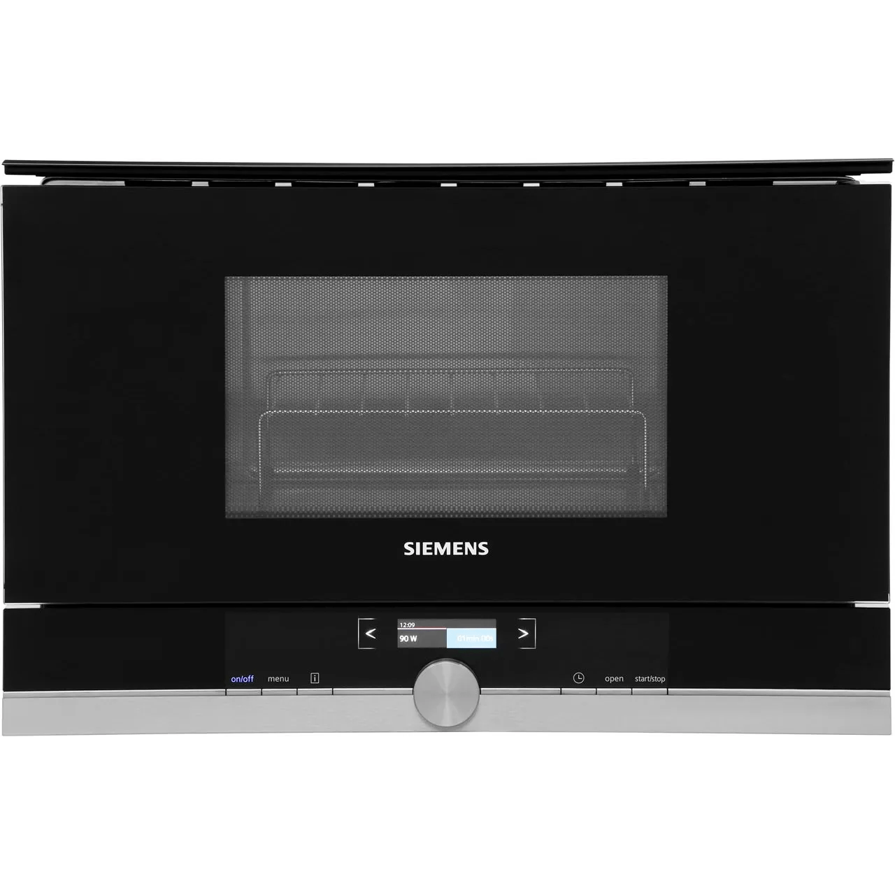 siemens iq 700 be634lgs1b built in microwave with grill black stainless steel
