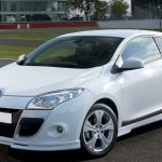 Maxton Design Front Bumper Spoiler Renault Megane Mk3 Rme3np Rme3np