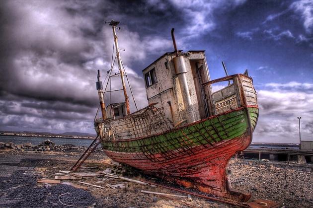 J'ai navigué les sept mers ... © Asmundur