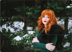 Женский портрет на пленэре: используем пространство
