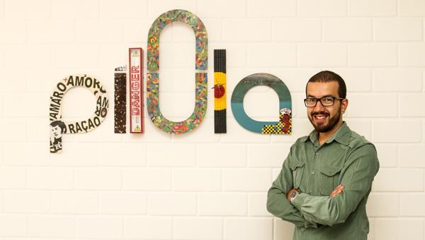 Thiago Regis é diretor de arte e novos negócios da Pílula Criativa