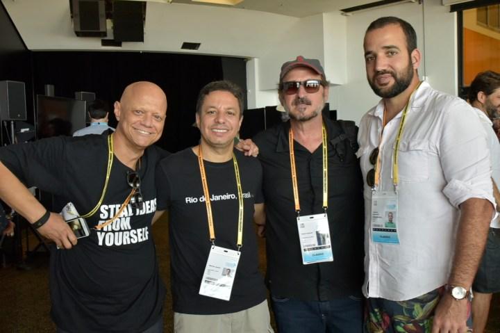 Antônio Carlos Accioly, Marcio Juniot (Leo Burnet), Paulo Schimidt (Apro),  Vinicius Bonavides (GTB)