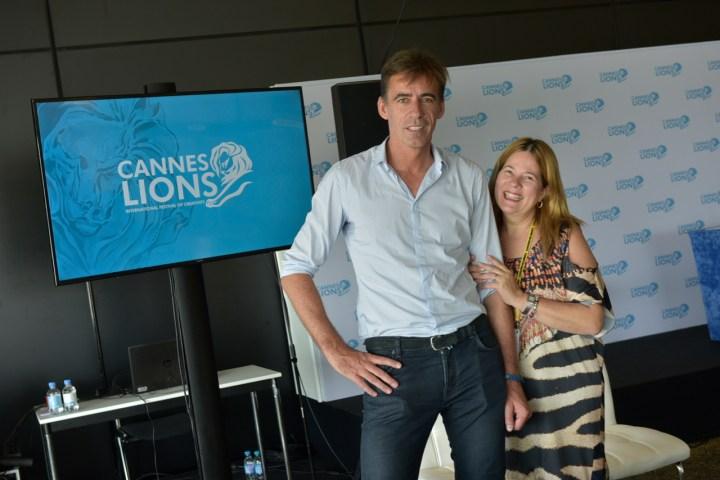 Stephan Loerke (WFA), Sandra Martinelli (ABA)