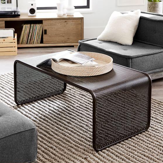 mesh coffee table lounge table