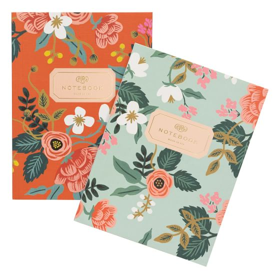 Rifle Paper Co Birch Notebooks Desk Accessories Pottery Barn Teen