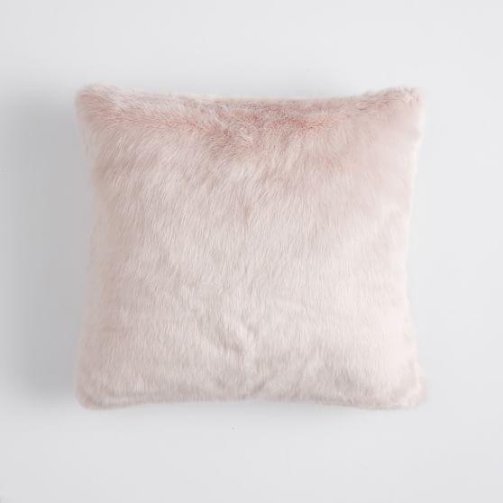blush fluffy pillow online
