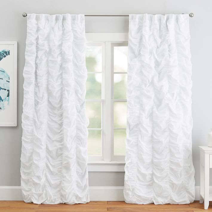 ruched blackout curtain