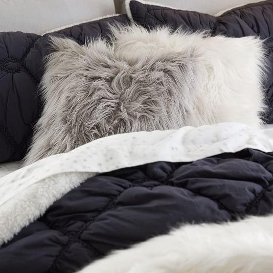 himalayan faux fur pillow covers
