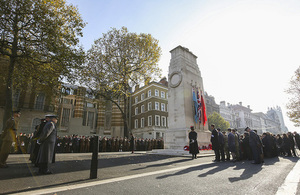 Annual Service of Remembrance, The Cenotaph, London