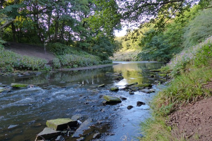 River Irwell on a sunny day