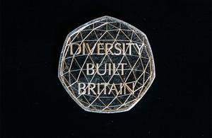 Diversity built Britain coin