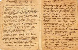 first world war diaries