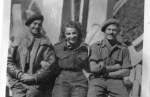 Rossana Banti WWII radio operator in Italy receives 3