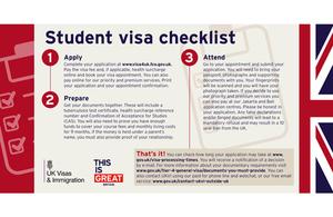 Tier 4 student visa checklist  GOVUK