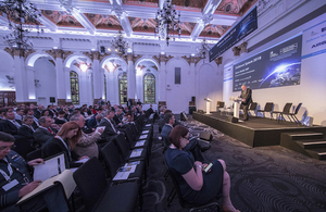 Minister for Defence Procurement speaking at the Defence Space Conference 2018