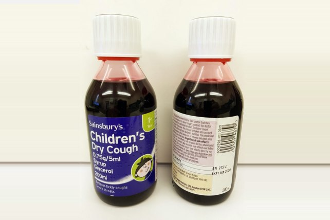 Sainsbury's cough syrup
