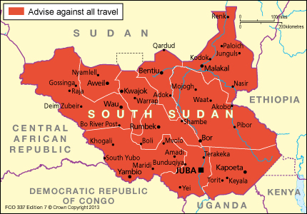 South Sudan travel advice GOVUK