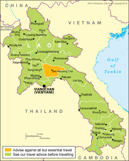 Laos travel advice - GOV.UK